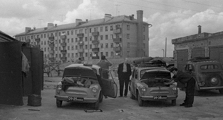 Гаражный кооператив: закрытый мужской клуб времен СССР