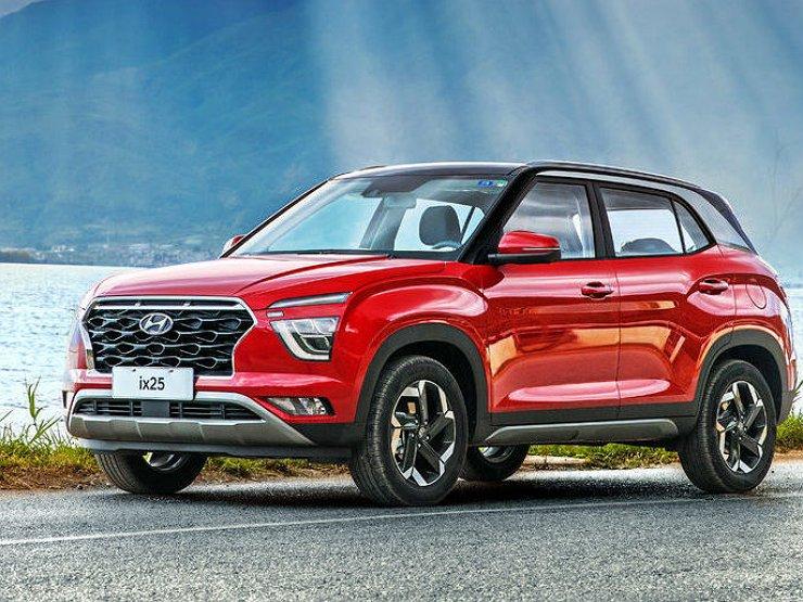 Эксерьер Hyundai Creta 2020