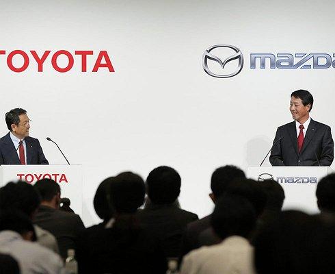 Компании Toyota иMazda объединяются