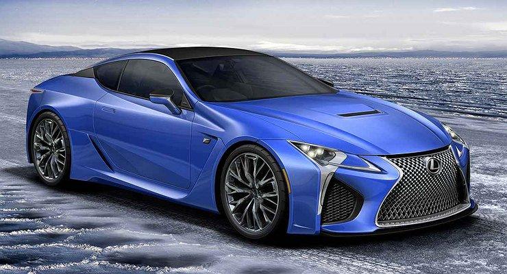 Новые подробности о«заряженном» купе Lexus LCF