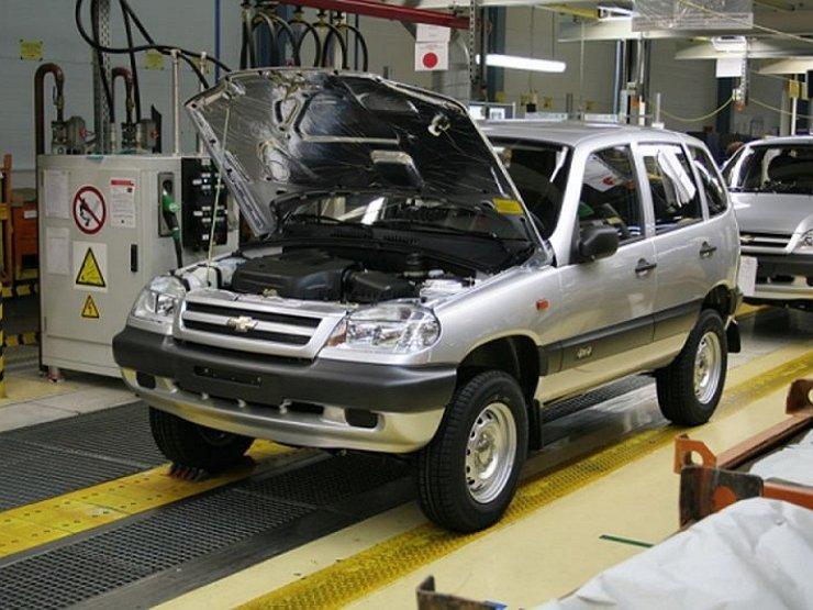 ВКазахстане началась серийная сборка Chevrolet Niva