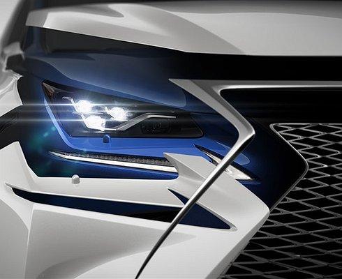 Lexus покажет обновленный NXвапреле