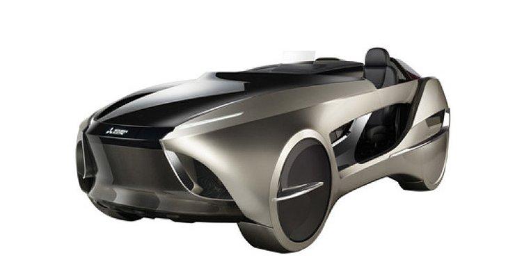 Беспилотный родстер Mitsubishi Electric Emirai 4дебютирует вТокио