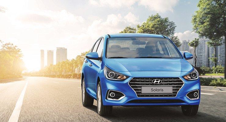 Hyundai Solaris опередил попродажам кроссовер Creta