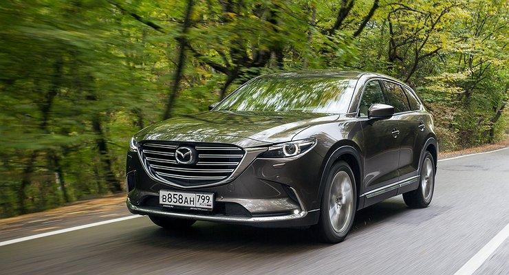 Первый тест-драйв новой Mazda CX-9: щенячий восторг