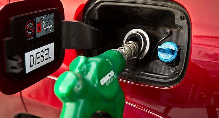 Продажи дизельных автомобилей вРоссии продолжают падать