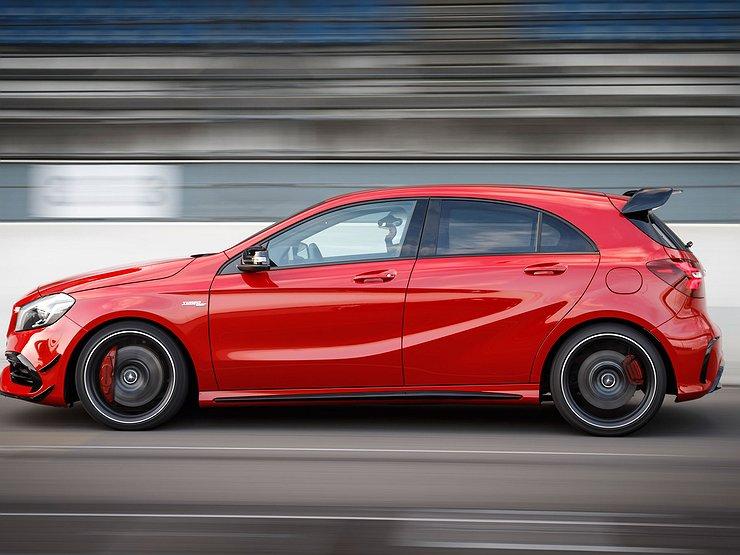 Новый Мерседес-Бенс A-Class получит 400-сильный мотор