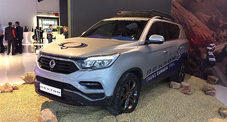 НаФранкфуртовском автосалоне показали SsangYong Rexton четвертого поколения