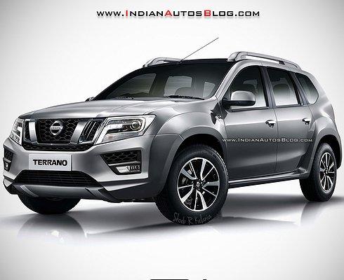 Появились первые изображения Nissan Terrano 2017 модельного года