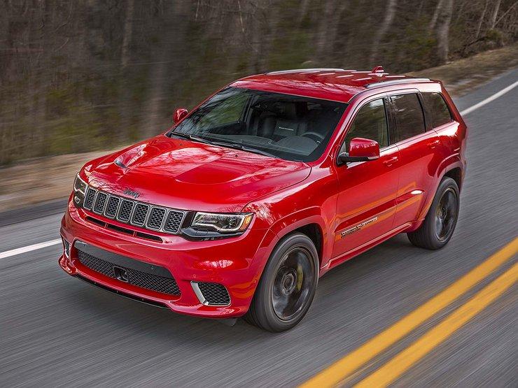 Jeep Grand Cherokee Trackhawk дебютирует в конце недели - Автомобили ... 60538c78b13de