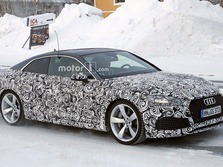 Новое «заряженное» купе Ауди RS5 Coupe проходит заключительные тесты