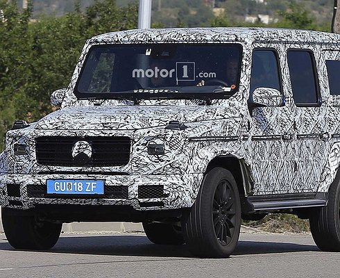 Mercedes-Benz G-Klasse третьего поколения замечен натестах
