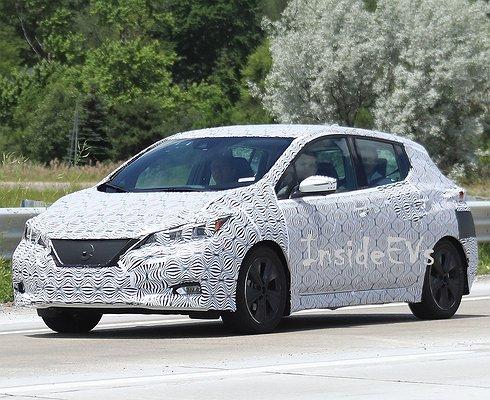 Nissan Leaf второго поколения будет управляться одной педалью