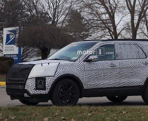 Ford Explorer нового поколения проходит дорожные испытания