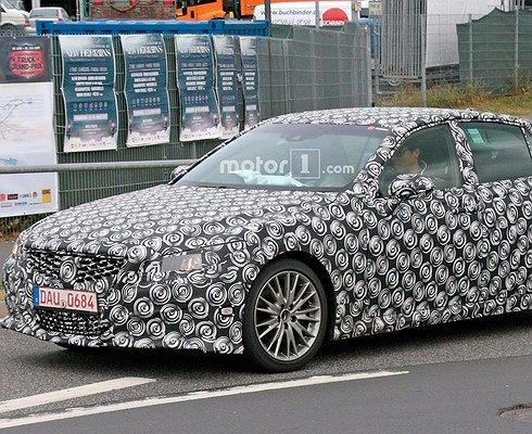 Японцы тестируют Lexus GSнового поколения