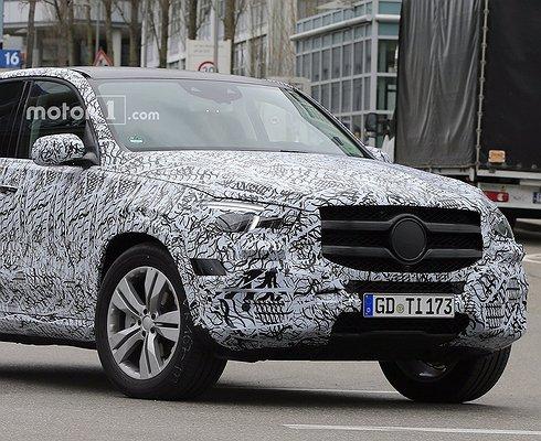 Mercedes-Benz тестирует GLE второго поколения