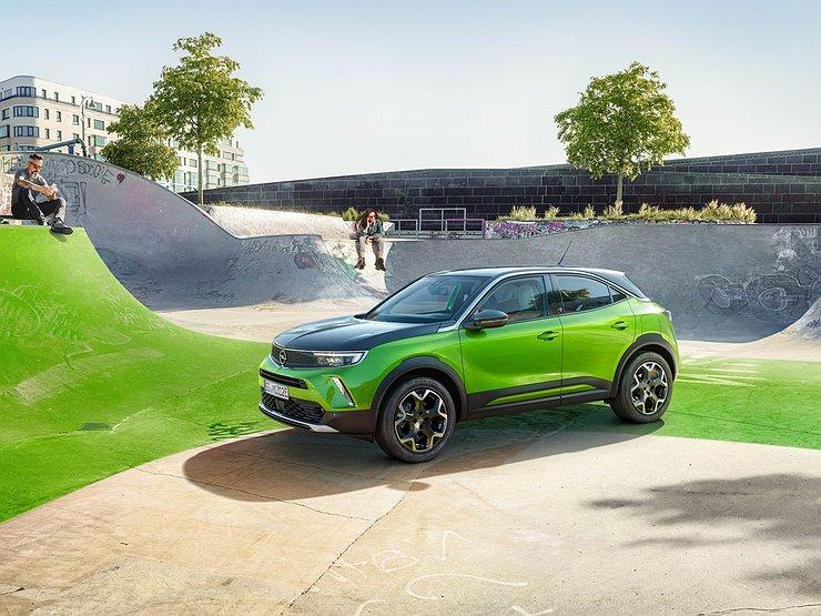 АвтомобилиКроссоверыДебютировал компактный Opel Mokka нового поколения