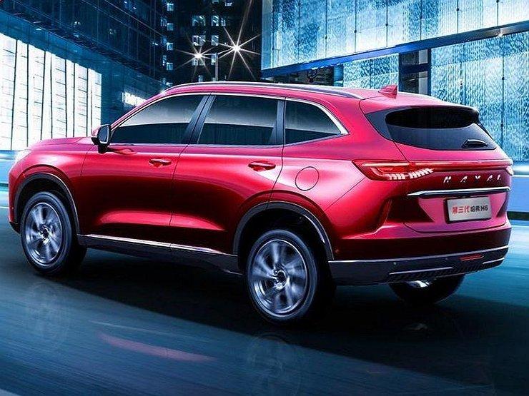 АвтомобилиКроссоверыКитайцы раскрыли подробности о Haval H6 третьего поколения