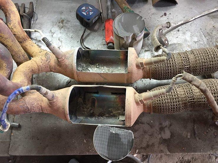 Как «запороть» мотор, выбив катализатор у автомобиля - Лайфхак - АвтоВзгляд