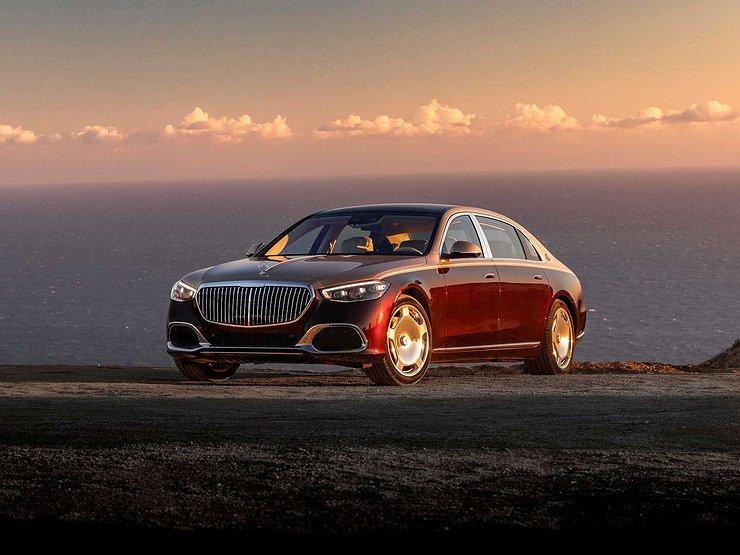 Mercedes-Maybach получит V12 и полный привод