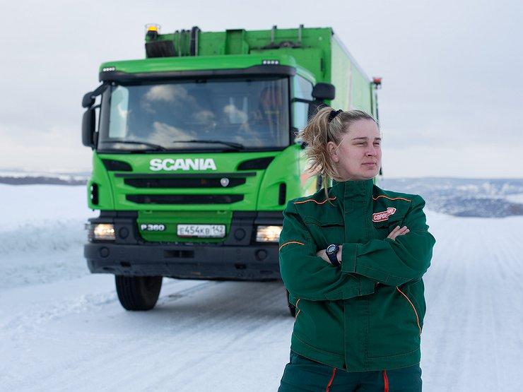 Как женщин-дальнобойщиц научили экономить по 3 литра топлива на 100 км