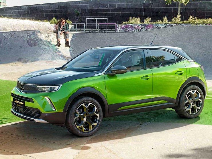 Opel привезет в Россию новый кроссовер Mokka и еще несколько моделей