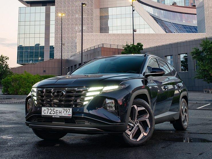 Привет из будущего: видео тест-драйв новейшего кроссовера Hyundai Tucson