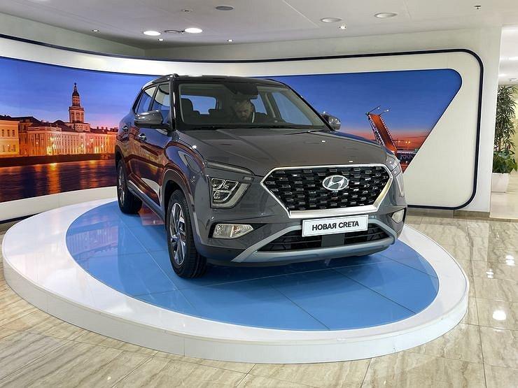 Hyundai привезет в Россию новые модели и запустит дистанционные сервисы