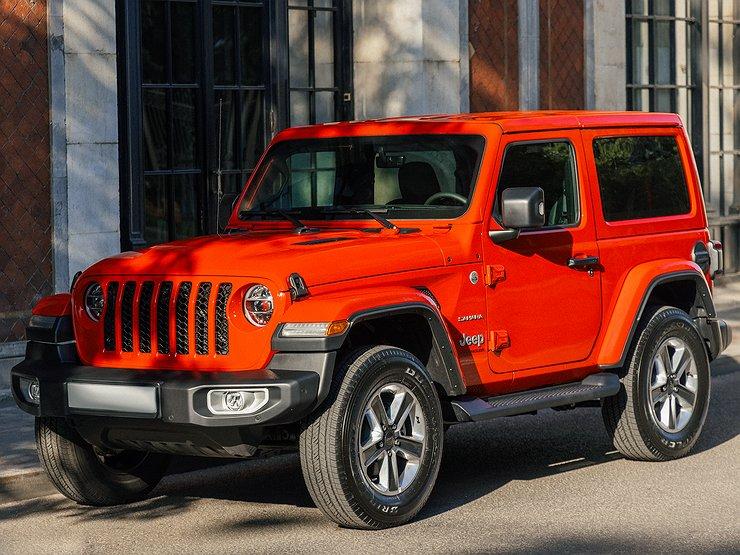 В московском каршеринге появились бескомпромиссные внедорожники Jeep Wrangler Sahara