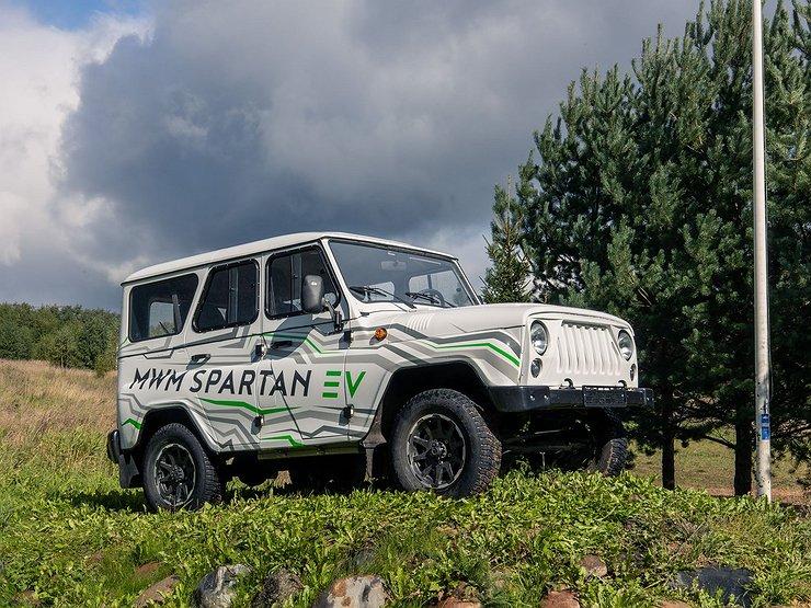 UAZ Spartan: технологический прорыв или нержавейка на саморезах?