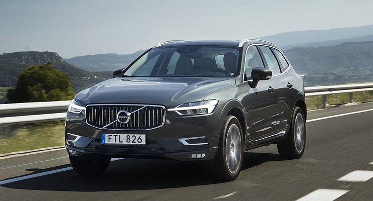 Объявлены цены накроссовер Volvo XC60 второго поколения