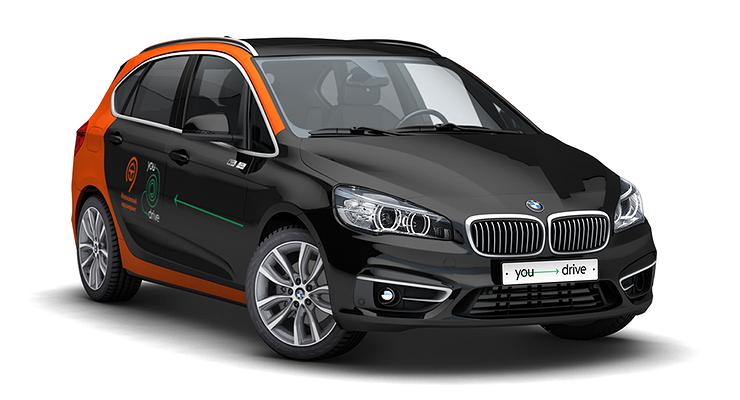 Вмосковском каршеринге появились BMW 2-й серии Active Tourer