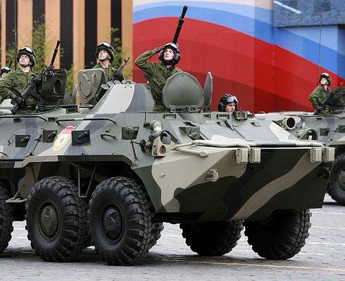 Из-за подготовки кпараду вМоскве перекроют около двадцати улиц