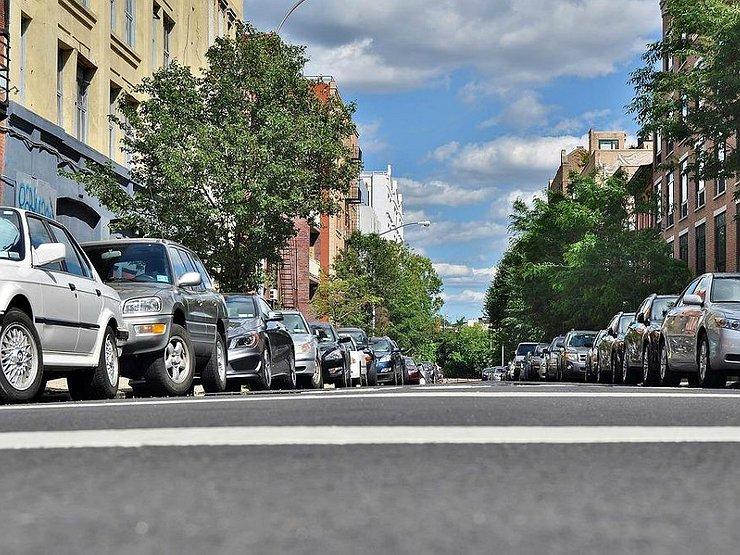 Можно ли плавно поменять направление разметки парковки