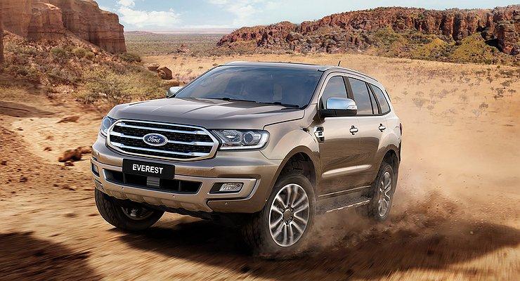Ford презентовал обновленный внедорожник Everest