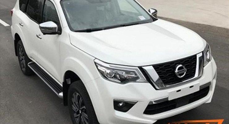 Опубликованы первые фотографии нового рамного внедорожника Nissan