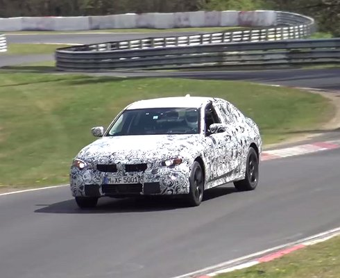 Новая BMW 3-й серии замечена натрассе Нюрбургринг