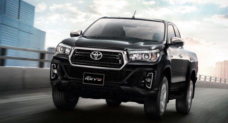 Официально представлена обновленная Toyota Hilux