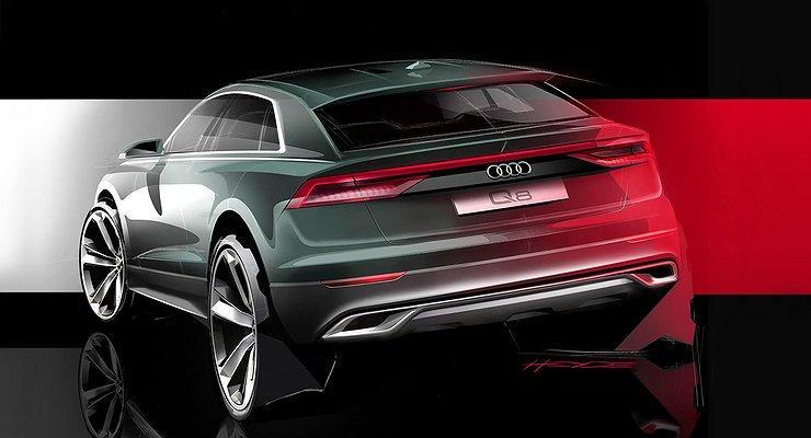 Названы сроки премьеры нового купеобразного кроссовера Audi Q8