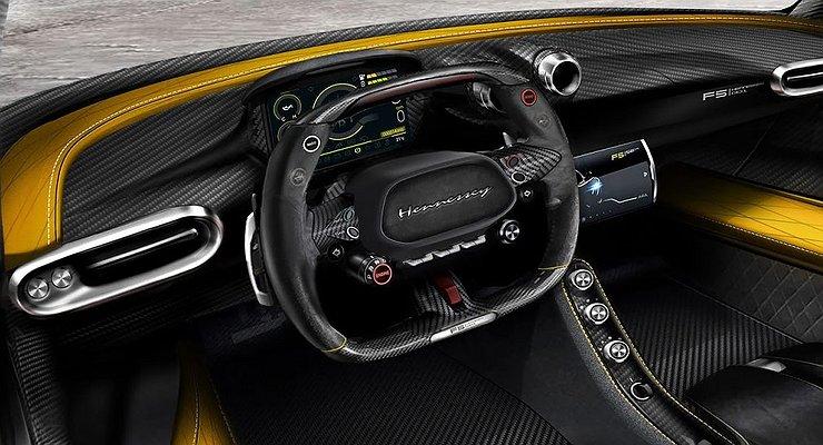 Тюнинг-ателье Hennessey рассекретило интерьер самой быстрой вмире машины
