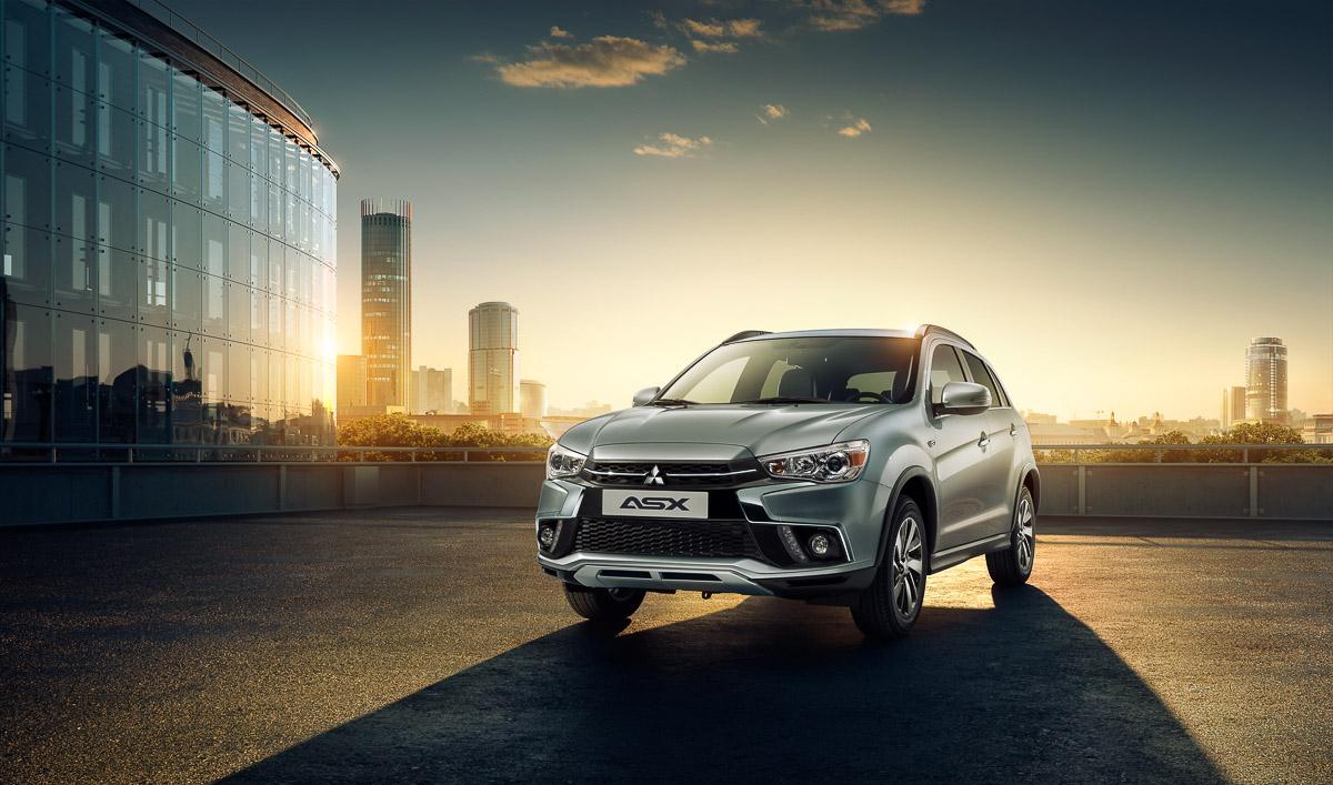 Объявлены цены наобновленный Mitsubishi ASX