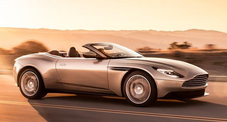 Стартовали продажи нового кабриолета Aston Martin DB11 Volante