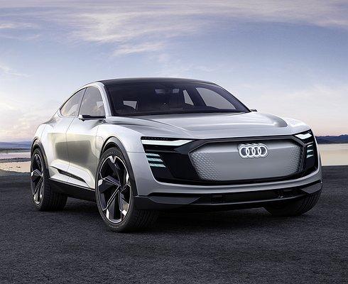 Когда появится впродаже новый кроссовер-купе Audi e-tron Sportback