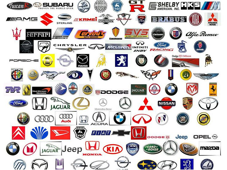 фото марок машин