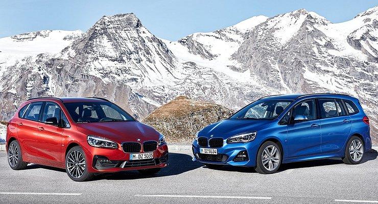 Баварцы представили обновленные компактвэны BMW 2-й серии