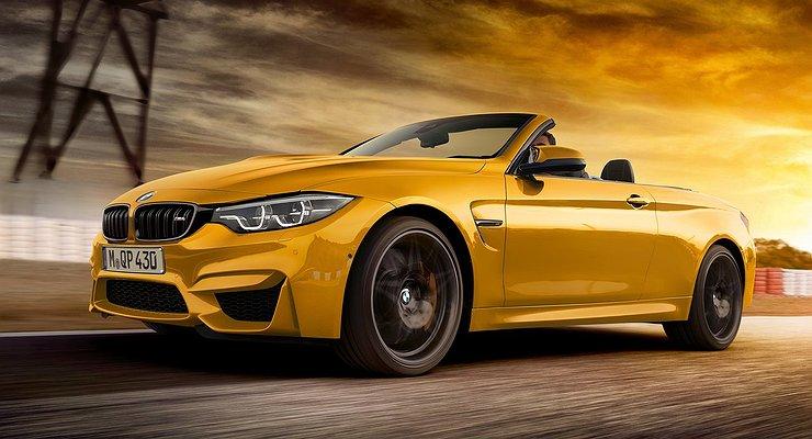 Кабриолет BMW M4 получил юбилейную версию 30Jahre