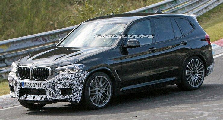 Новый BMW X3 Mзамечен наНюрбургринге