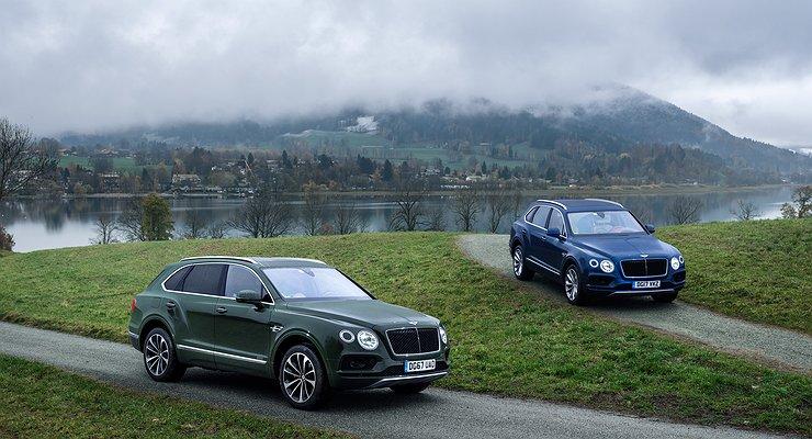 Bentley Bentayga Diesel: насолярке дешевле