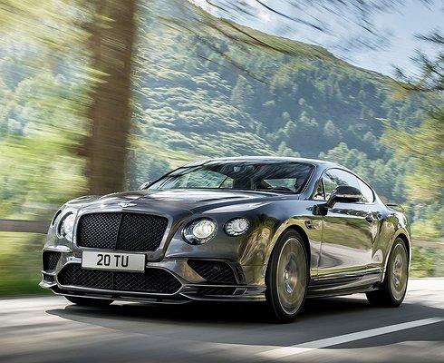 ВРоссии будет продано 10 экземпляров Bentley Continental Supersport