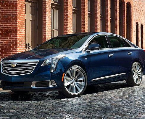 Седан Cadillac XTS пережил обновление
